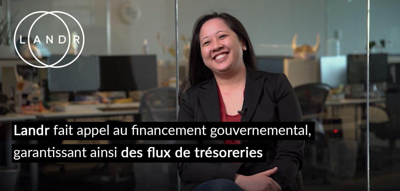 LANDR fait appel au financement gouvernemental, garantissant ainsi des flux de trésoreries