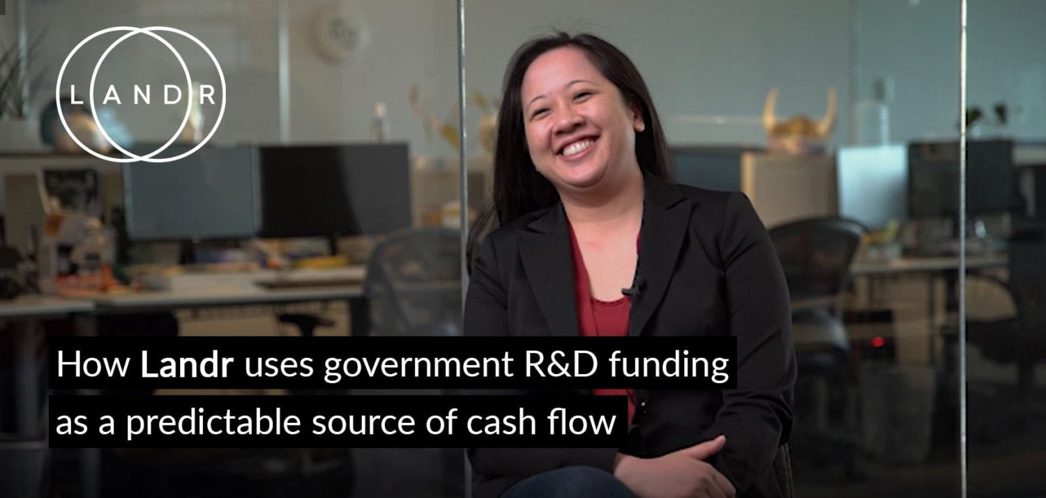 How LANDR uses government funding as a predictable source of cash flow